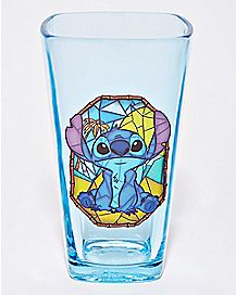 Square Stitch Pint Glass 16 oz. - Disney
