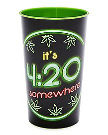 It's 420 Somewhere Cup - 22 oz.