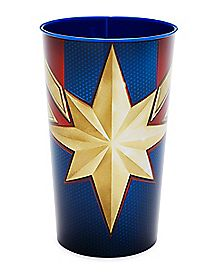 Captain Marvel Cup 22 oz. - Marvel