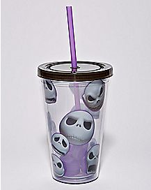 Jack Skellington Cup With Straw 16 oz. - The Nightmare Before Christmas