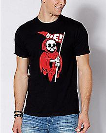 Grim Reaper Die T Shirt