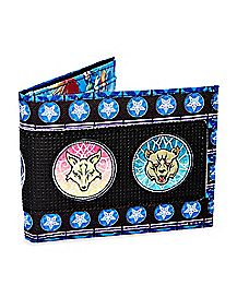 Mosaic Kingdom Hearts Bifold Wallet
