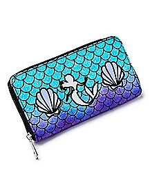 Mermaid Scales Ariel Zip Wallet - Disney
