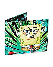 Tropical Spongebob and Patrick Bifold Wallet - Nickelodeon
