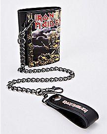 Iron Maiden Chain Wallet