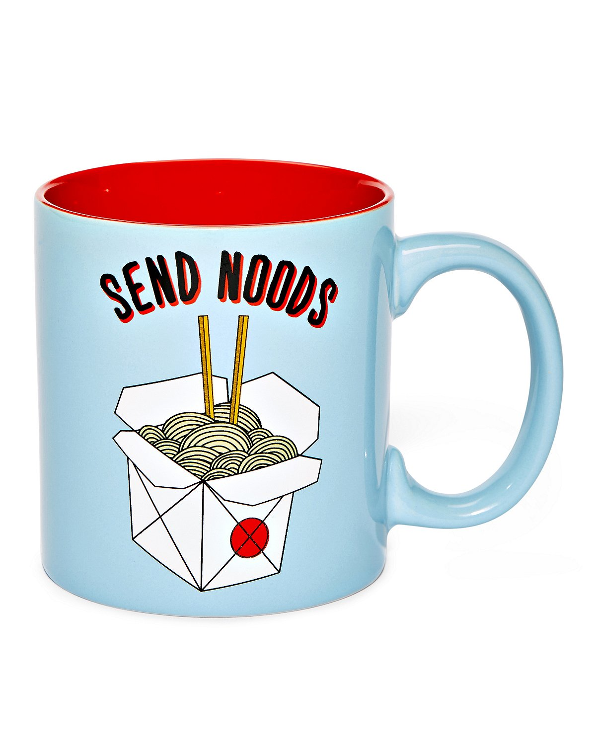 send noods coffee mug