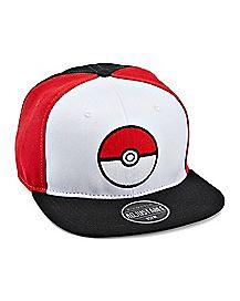 Pokeball Snapback Hat - Pokemon cd10cba26162