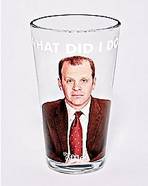 What Did I Do Toby Pint Glass 16 oz. - The Office