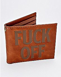 Fuck Off Bifold Wallet