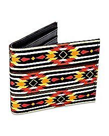Tribal Bifold Wallet