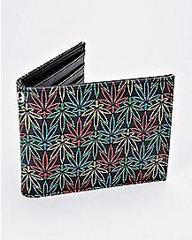 Rasta Leaf Bifold Wallet