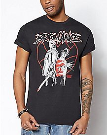Bromance Freddy and Jason T Shirt