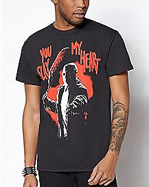 You Slay My Heart Jason Voorhees T Shirt - Friday The 13th