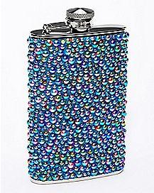Textured Pebble Flask - 8 oz.