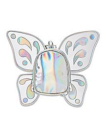 Iridescent Butterfly Mini Backpack