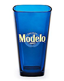 Square Modelo Pint Glass - 16 oz.