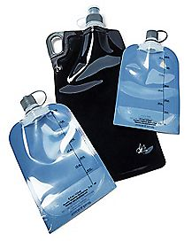 Disposable Flasks - 3 Pack
