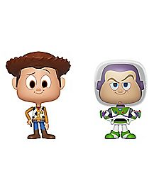 Woody and Buzz Lightyear Vynl. Funko Figures - Toy Story