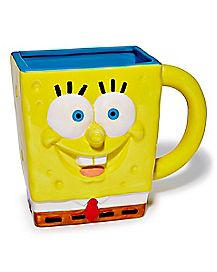 Molded Spongebob Coffee Mug 20 oz. - Nickelodeon