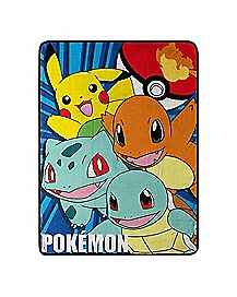 Pokemon Fleece Blanket