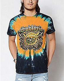 Tie Dye Sun Sublime T Shirt