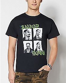 Black and White Snoop Dogg T Shirt