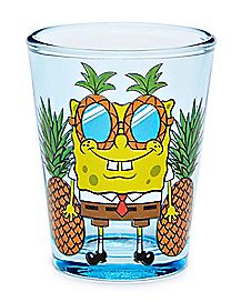 Pineapple Spongebob Shot Glass 1.5 oz. - Nickelodeon