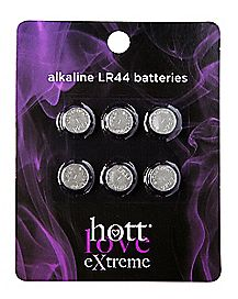LR44 Batteries 6 Pack - Hott Love Extreme