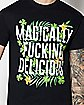 Magically Fucking Delicious St. Patrick's Day T Shirt