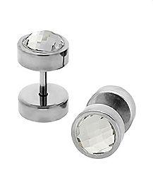 Square Cut Fake Plugs - 16 Gauge