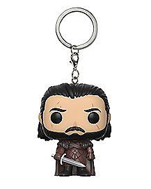 Jon Snow Funko Pop Keychain - Game of Thrones