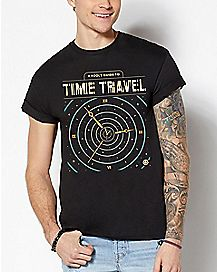 A Fool's Guide To Time Travel T Shirt - Cody Weiler