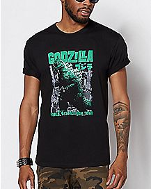 World Destruction Tour Godzilla T Shirt