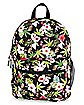 Tropical Leaf Backpack