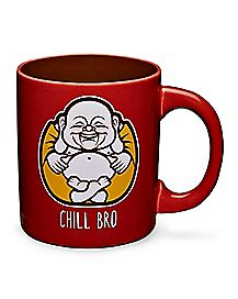 Chill Bro Buddha Coffee Mug – 20 oz.