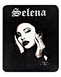 Black and White Selena Fleece Blanket