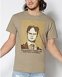Undivided Attention Dwight T Shirt - The Office