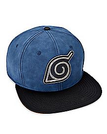 Naruto Badge Snapback Hat - Naruto