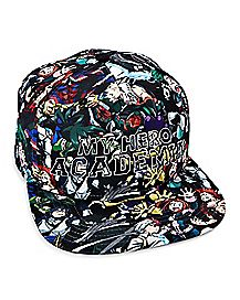 Sublimated My Hero Academia Snapback Hat