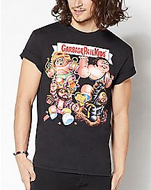 Wrestlers Garbage Pail Kids T Shirt
