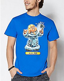 Slick Ric Garbage Pail Kids T Shirt - WWE