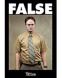 False Dwight Poster - The Office