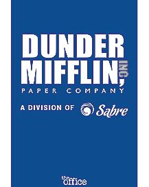 Dunder Mifflin Paper Company Poster - The Office