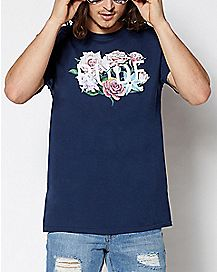 Floral Rude T Shirt