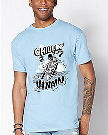 Chillin  Like A Villain T Shirt - Ink Boy 9422f31e8