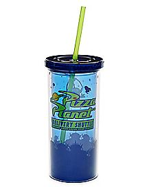 Pizza Planet Cup With Straw 20 oz. - Toy Story
