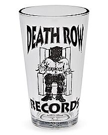 Death Row Records Pint Glass - 16 oz.