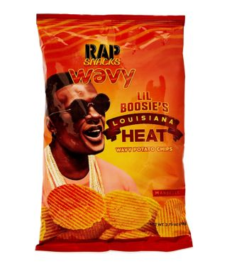 Lil' Boosie Louisiana Heat Wavy Potato Chips
