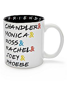 Friends Names Coffee Mug - 20 oz.