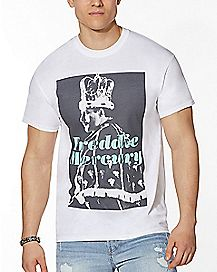King Freddie Mercury T Shirt